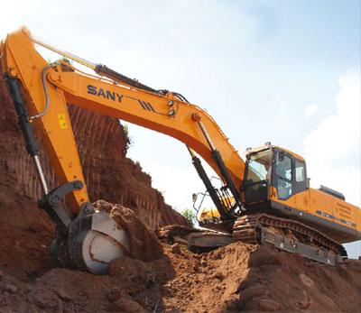 New Generation Hydraulic Excavator - SY465C