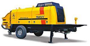 Motor Trailer-mounted Concrete Pump - HBT60C-1413