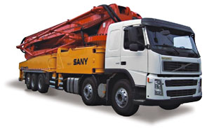 60M Concrete Pump Trucks - SYG5502THB 60