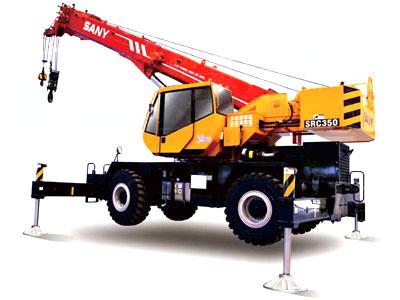 Rough-terrain Crane - SRC350