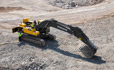 Volvo EC380D, EC480D excavator (excavator) increase your uptime through ease of serviceability from grouped filters and wide compartment doors