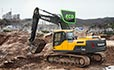 Volvo EC300D excavator offers fuel efficient and productive machines