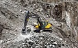 Volvo EC300D excavator digger excavator provides increased power, controllability and versatility