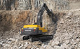 Volvo EC380D, EC480D excavator (excavator) get the job done in demanding conditions thanks to a strong durable undercarriage