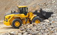 Volvo L105 loader superior performance in all wheel loader operations