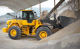 Volvo L105 loader premium hydraulic components and durable Z-bar linkage