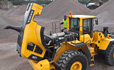 Volvo L150G, L180G, L220G loader (loader) engine hood design