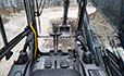 Volvo EC300D excavator Volvo Care Cab provides comfort and safety assurance