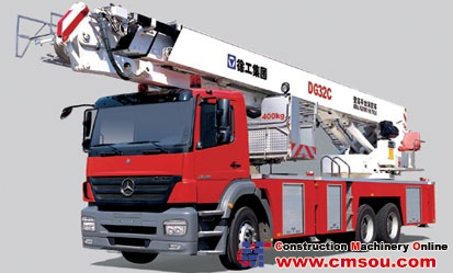 XCMG DG32C Aerial Ladder Fire Truck