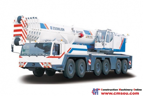 Zoomlion QAY180 All-Terrain Truck Crane