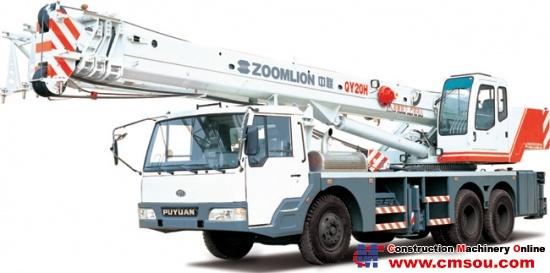 Zoomlion QY20H431 Truck Cranep