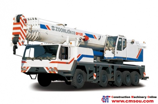 Zoomlion QY120V633 Truck Cranep