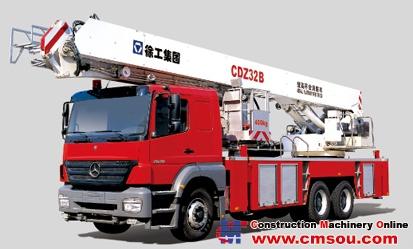 XCMG CDZ32B Aerial Ladder Fire Truck