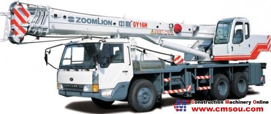 Zoomlion QY16H431 Truck Cranep