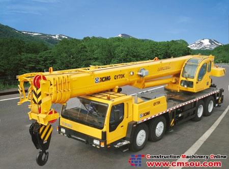 XCMG QY70K Truck Crane