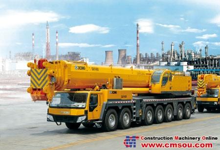 XCMG QAY400 Truck Crane