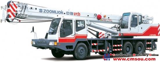 Zoomlion QY25E431 Truck Cranep