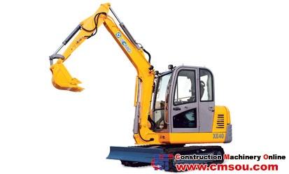 XCMG XE40 Crawler Excavator
