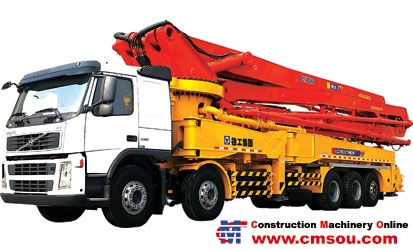XCMG HB56 Truck-mounted Concrete Pump