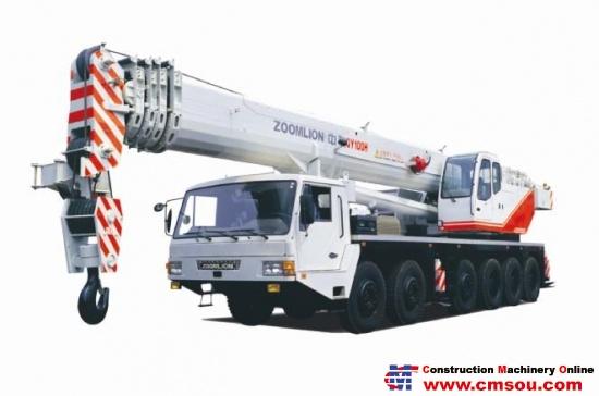 Zoomlion QY100H-3 Truck Cranep