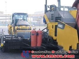 VOLVO ABG9820 Crawler Paver-Finisher Paver