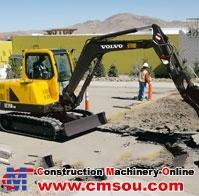 VOLVO EC55B Pro Crawler Excavator