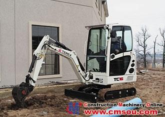 Terex TC16 Crawler Excavator