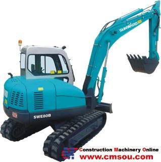 Sunward SWE Series-SWE80B Wheel Excavators