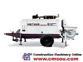 Liugong HBT60R Trailer-Mounted Concrete Pump