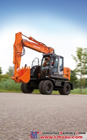 Hitachi ZX145W-3 Wheel Excavator