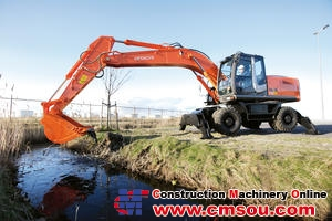 Hitachi ZX210W-3 Wheel Excavator