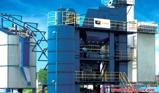 Huatong LJB1200 Asphalt Mixing Plant