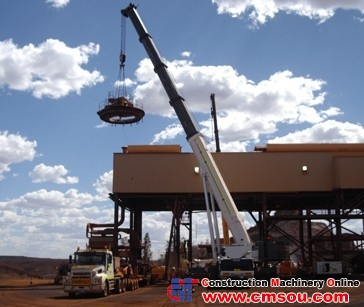 Manitowoc GMK7450 Truck Crane