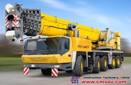 Manitowoc GMK5170 Truck Crane