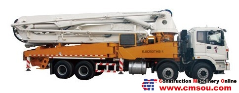 Lovol BJ5293THB-1 Truck-mounted Concrete Pump