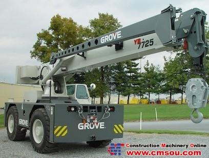 Manitowoc YB7725 Truck Crane