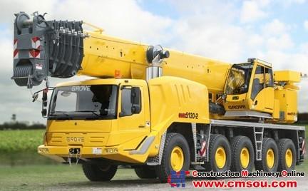 Manitowoc GMK5130-2 Truck Crane