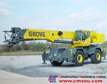 Manitowoc RT600E Truck Crane