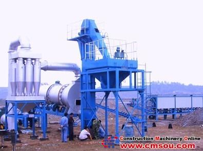 Roady DHB60 Asphalt Mixing Plant