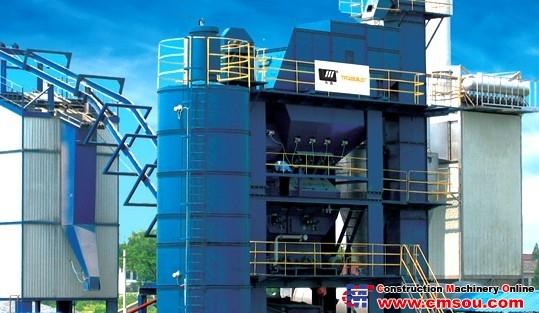 Huatong LJB2000 Asphalt Mixing Plant