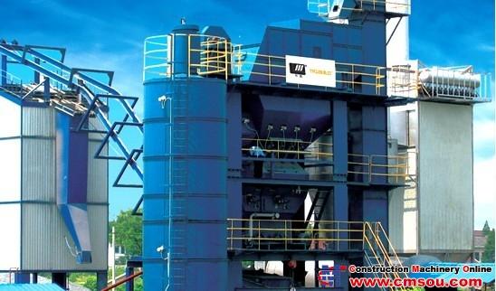 Huatong LJB1200C Asphalt Mixing Plant