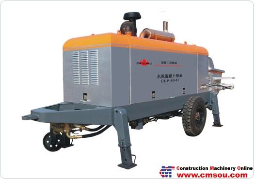 Ca-long CLT-80 Towed concrete pump