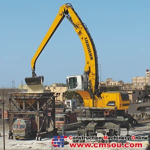 Liebherr LH 120 M High Rise Litronic Wheel Excavators