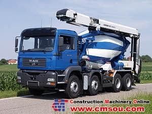 Liebherr LTB 12+4+1 GL Conveyor belt for truck mixer