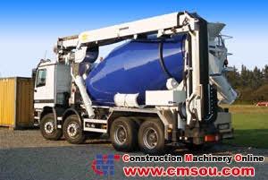 Liebherr LTB 12+4 GL Conveyor belt for truck mixer