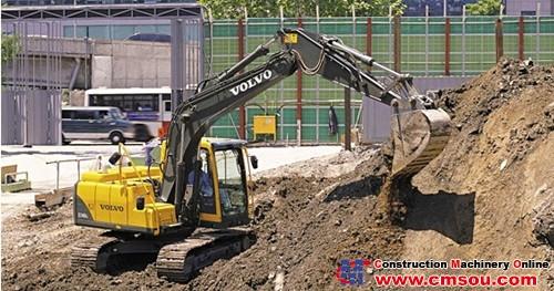 VOLVO EC140B Prime Crawler Excavator