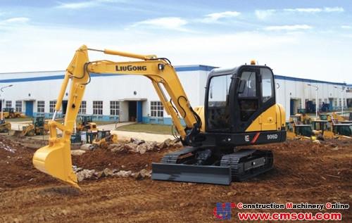 Liugong 906DIII Crawler Excavator