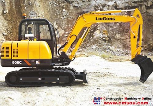 Liugong 906CIII Crawler Excavator