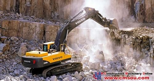 VOLVO EC460B Prime Crawler Excavator