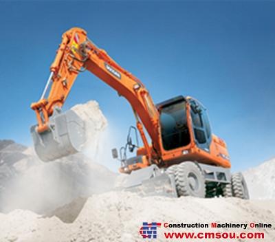 DOOSAN DX140W Wheel Excavators